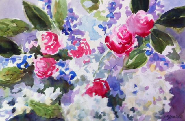 Bouquet 15 x 20 Watercolor