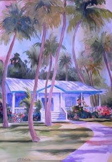 Key West, 30 x 20 Watercolor