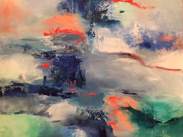 Summer Storm 24 x 30 Oil