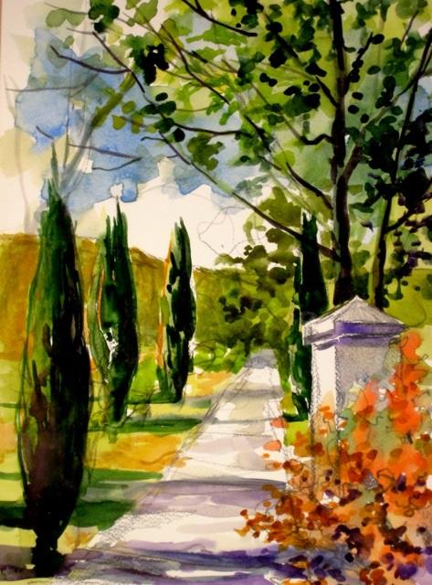 Cypress Road by Lynn Stender