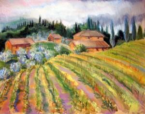"""Dievole Vineyard"", Tuscany"